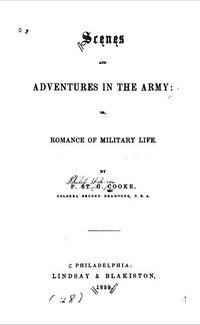Cook, P. St. G, Scenes and Adventures in the Army